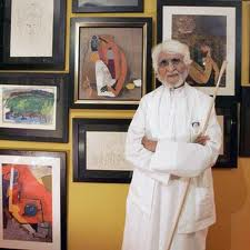 Indian most famous Painter MF Hussain Dies